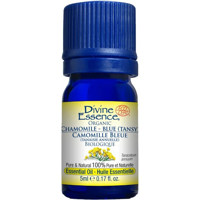 Huile essentielle Camomille Bleue bio (Tanacetum annuum) 5 ml