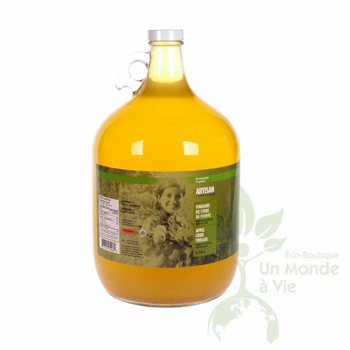 ARTISAN Vinaigre de cidre de pomme bio 3.78L