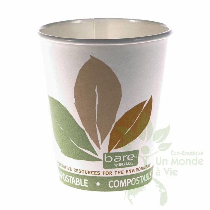 BARE Verres biodegradables (50) 10oz