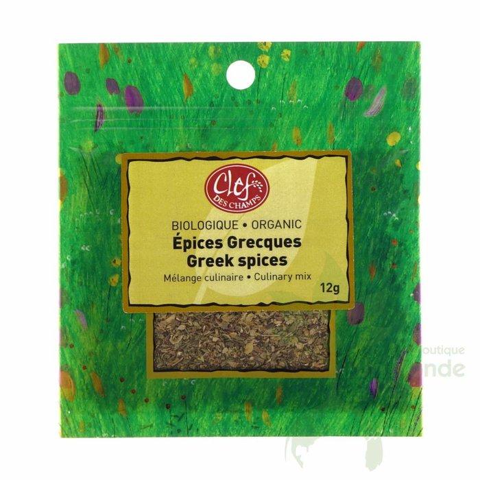 Zip Epices Grecques bio 12g