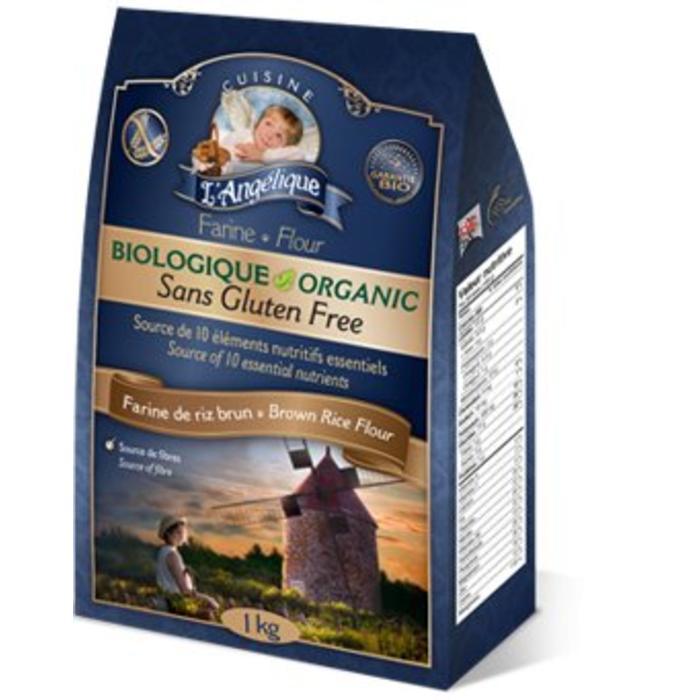 Farine de riz brun sans gluten bio 1kg
