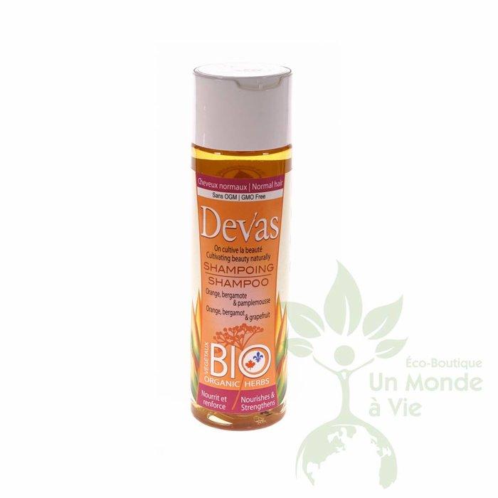 Shampoing Bergamote, Orange & pamplemousse 250ml