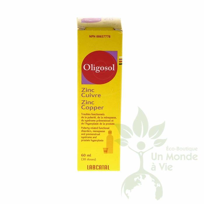 LABCATAL Oligosol  Zinc-cuivre 60 ml