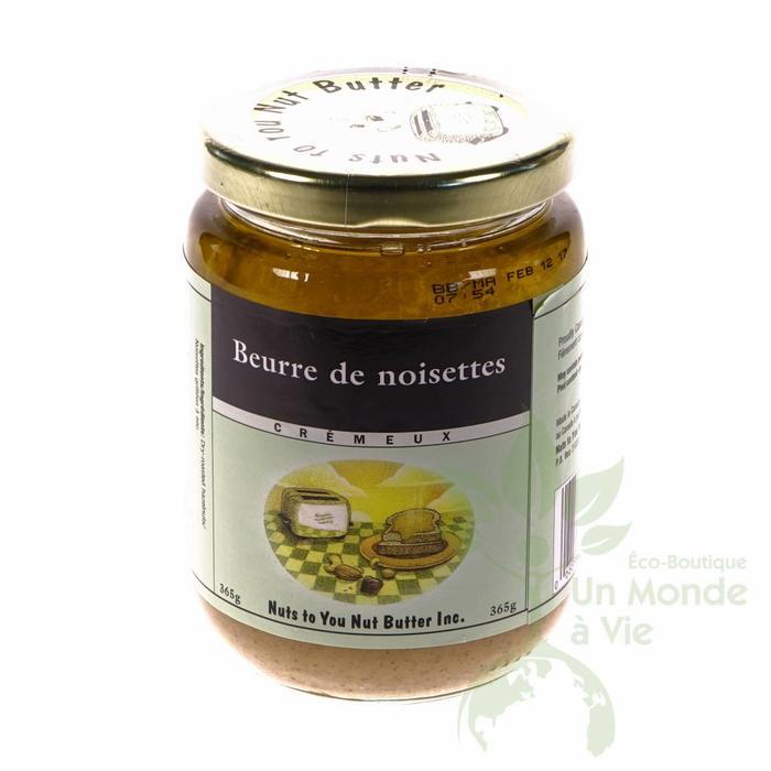 NUTS TO YOU Beurre de noisettes cremeux 365g