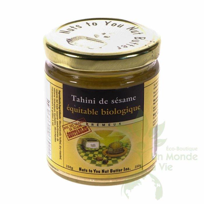 NUTS TO YOU Tahini (graines de sesame equitables) bio 250g