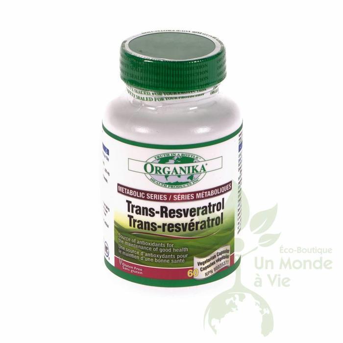 ORGANIKA Trans-resveratrol 60caps