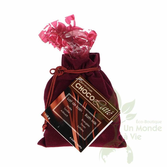 SKIN CO Lait de bain detox chocolate 100g