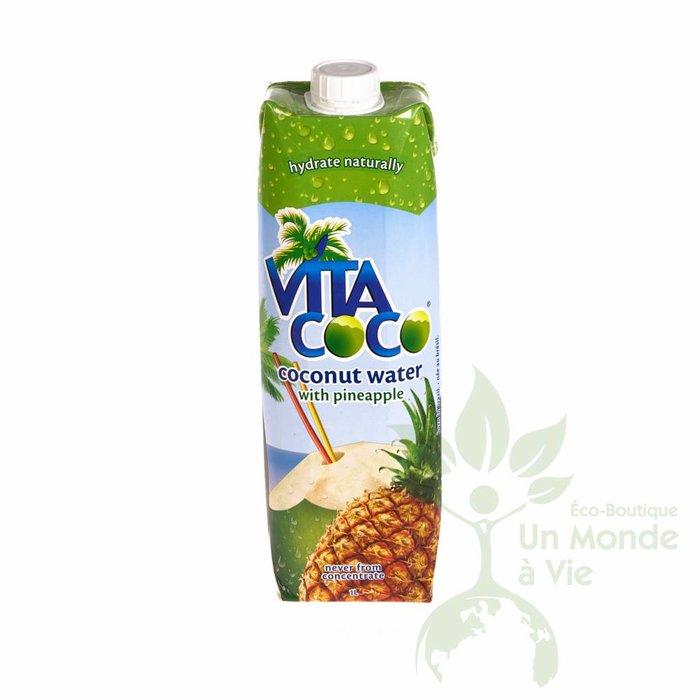 Eau de coco ananas 1 L - VitaCoco