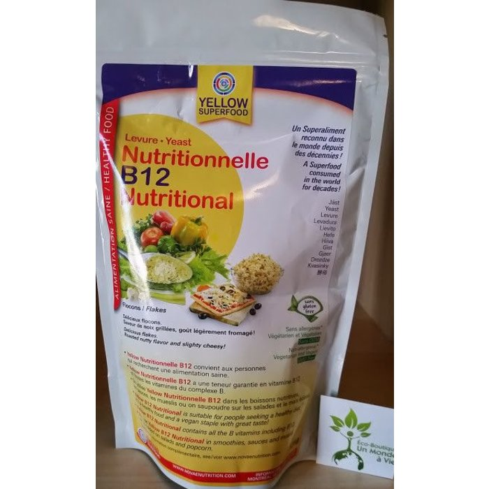 YELLOW Levure nutritionnelle flocon B12 125g