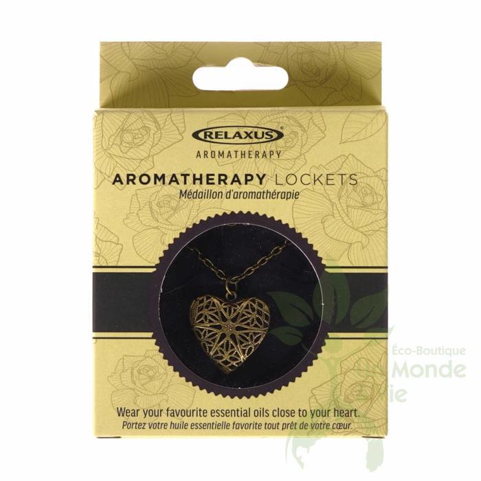Medaillon d'aromatherapie