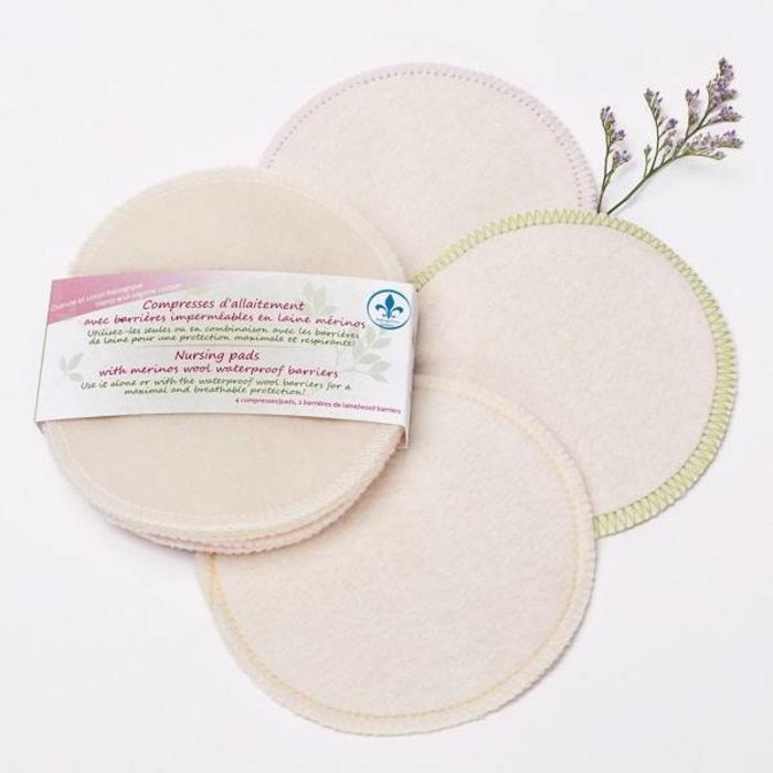 Compresse d'allaitement (100% fibres naturelles)