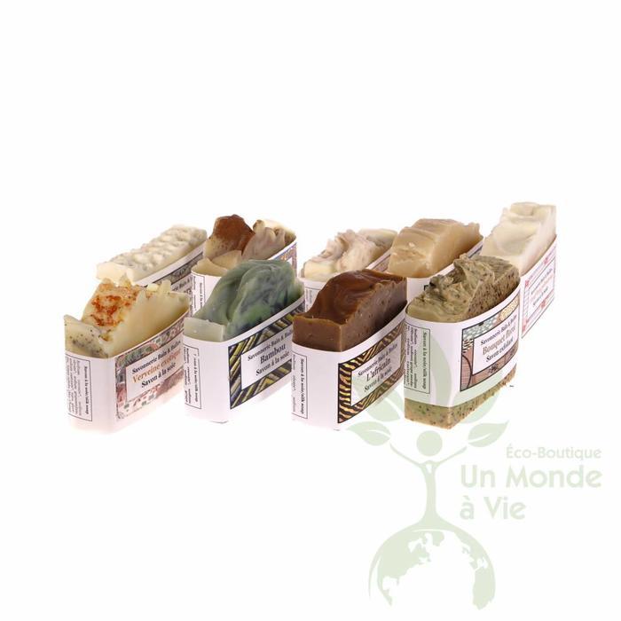 BAIN & BULLES Barres de savon à la soie