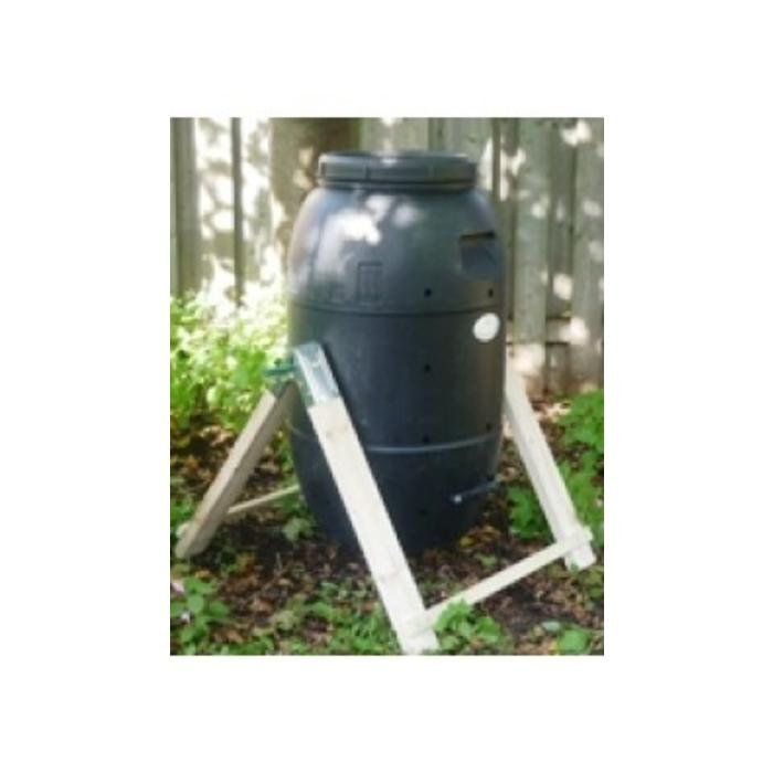 Composteur domestique rotatif