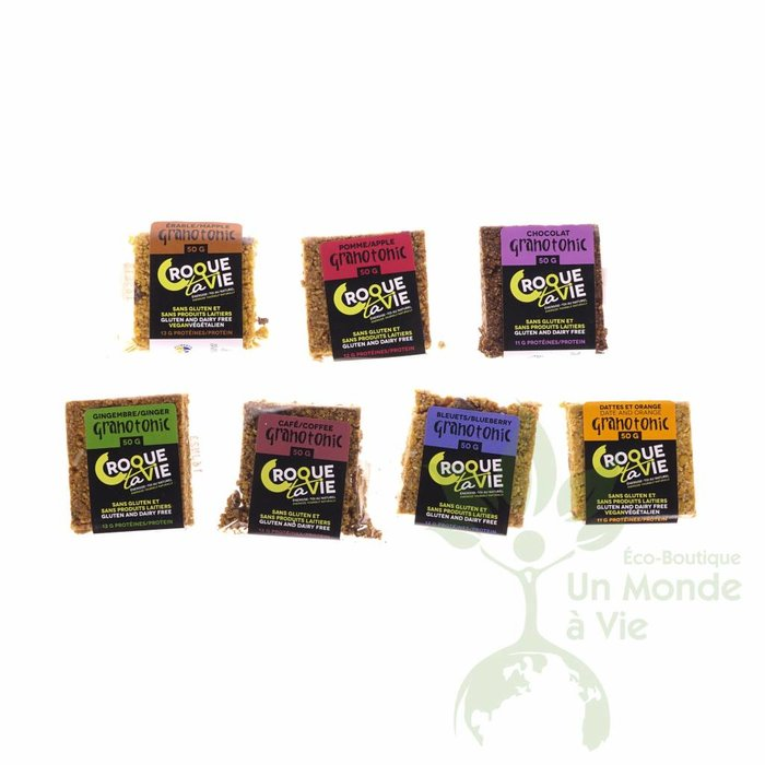 Barre Granotonic Dattes et orange 50g