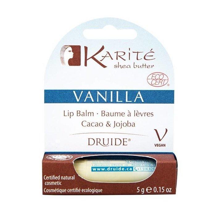 Baume a levres Karite & vanille 5g