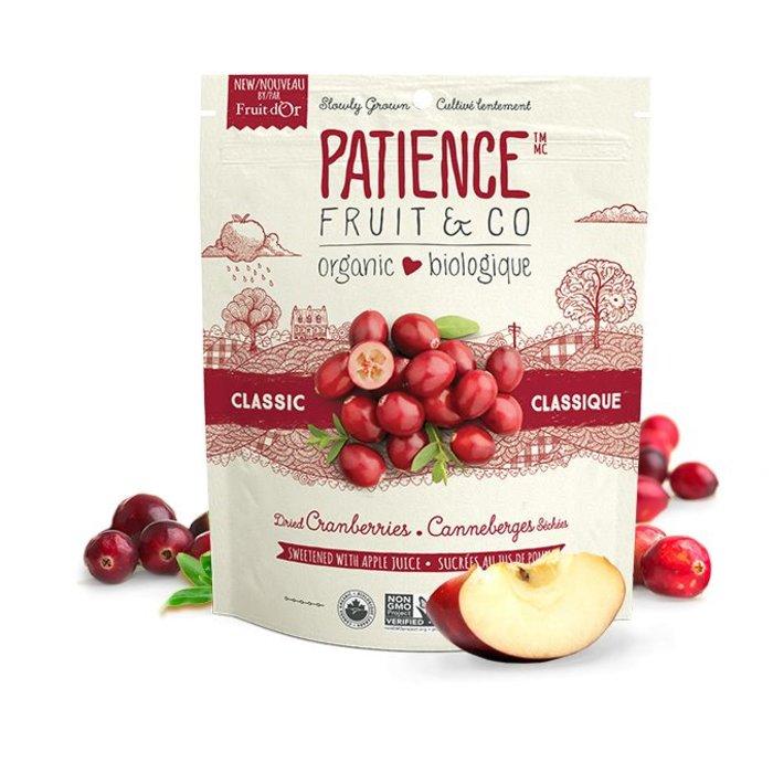 Canneberges sechees classique jus de pomme 227g