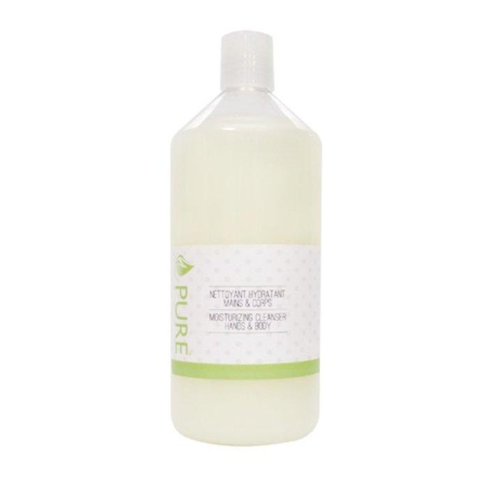 PURE Nettoyant hydratant mains & corps Fleur d'amandier 1L