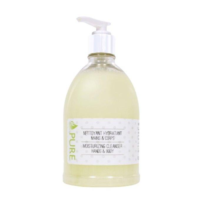 Nettoyant hydratant mains & corps Fleur d'amandier 500 ml