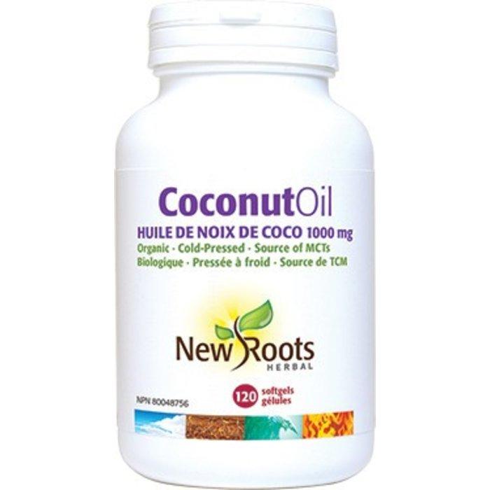 Huile de noix de coco (extra vierge) 120 gélules