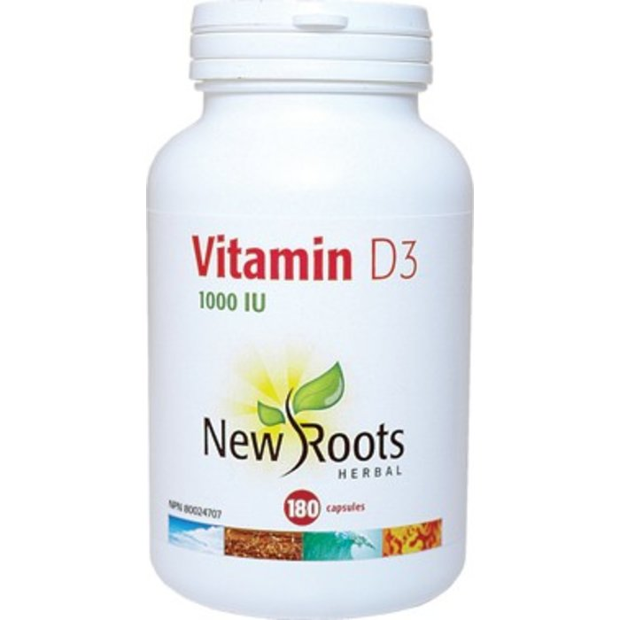 Vitamine D3 180 capsules