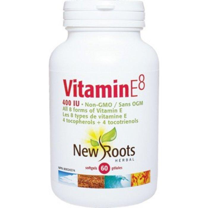 Vitamine E8 400 UI 60 gélules