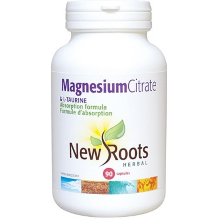 Magnesium Citrate et L-Taurine 90 caps