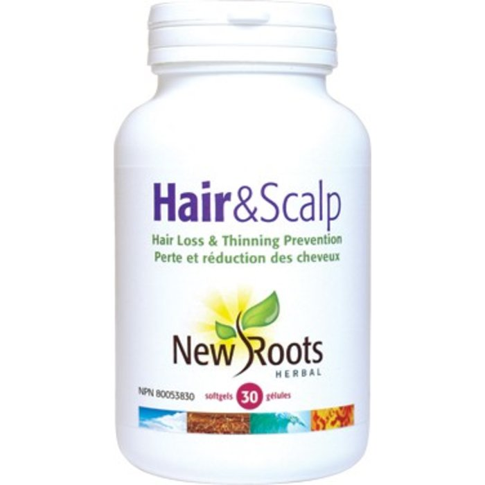 Hair and scalp (soutien capillaire) 30 capsules