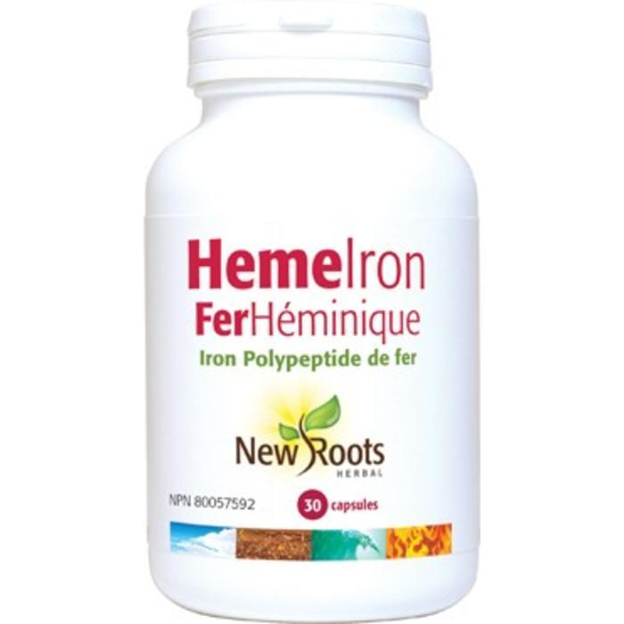 Fer Heminique 30 capsules Heme Iron