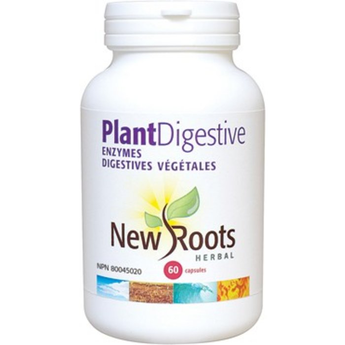 Enzymes digestives Plant digestive 60 capsules