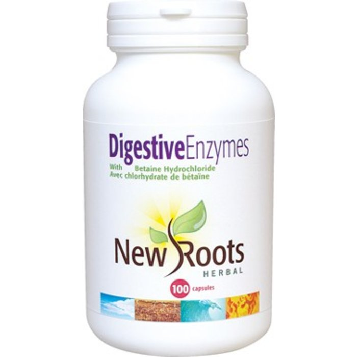 Enzymes digestives 100 capsules