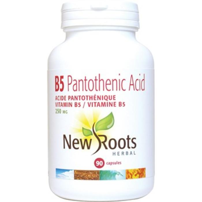 Vitamine B5 acide pantothenique 90 capsules