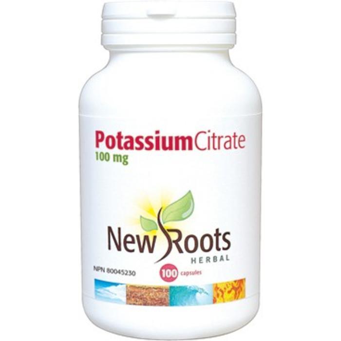 Potassium citrate 100 mg 100 capsules