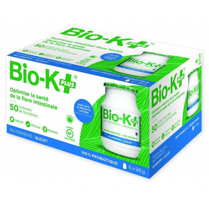 Probiotiques 50 milliards Riz fermenté / bleuets 6 pots