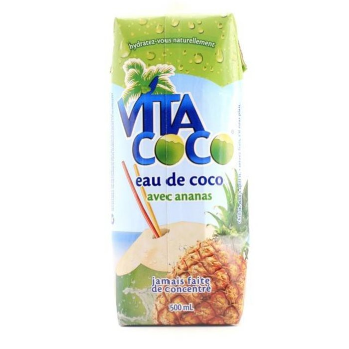 Eau de coco ananas 500 ml