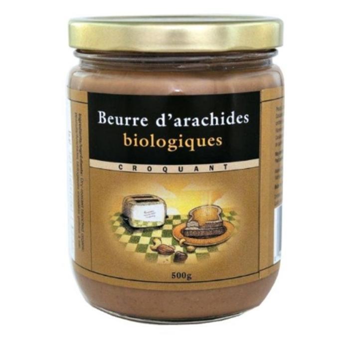 NUTS TO YOU Beurre d'arachides blanchies, croquant bio 500g