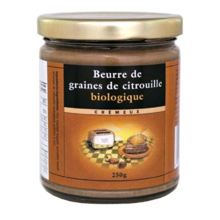 Beurre de graines de citrouille bio 250 g