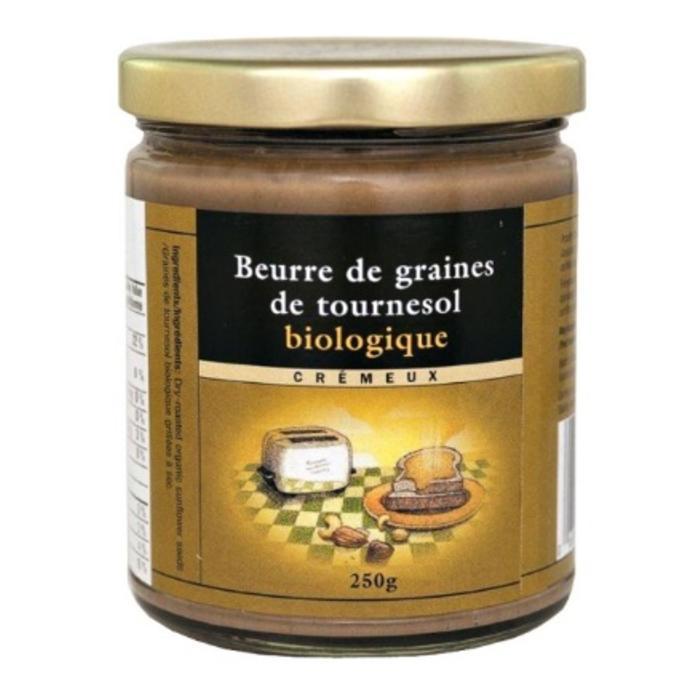 Beurre de graines de tournesol bio 250g eco boutique un - Graine de tournesol ...