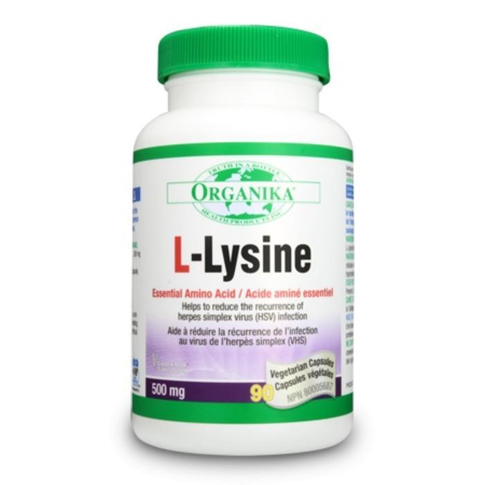 L-Lysine 500 mg 90 capsules