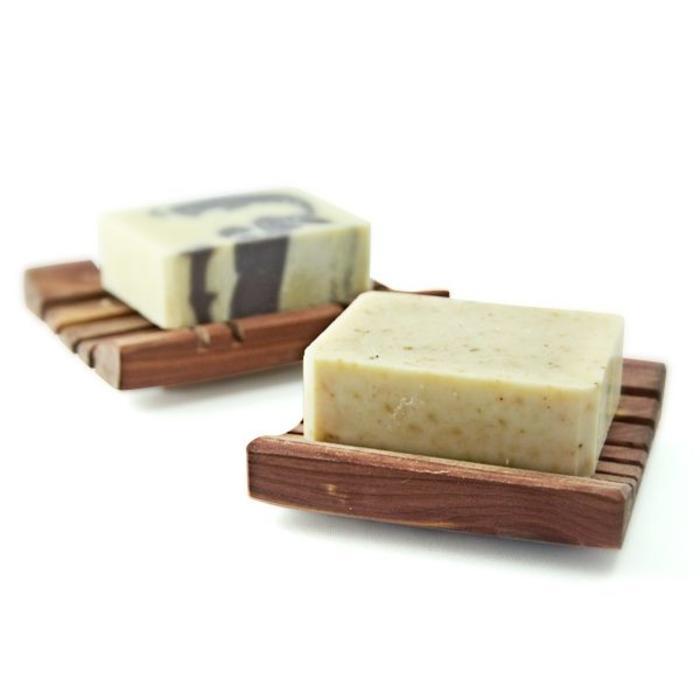 Porte-savon en cedre aromatique