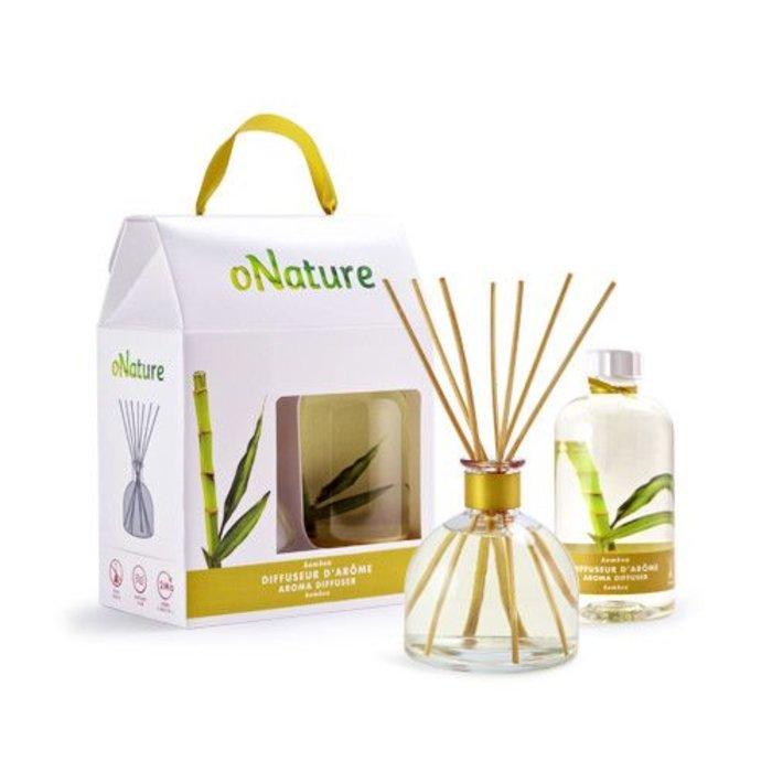 Diffuseur d'arome Bamboo avec baton 250ml