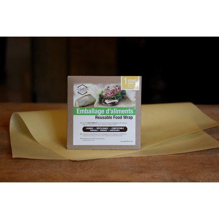 Emballage d'aliments réutilisable 12 x 20