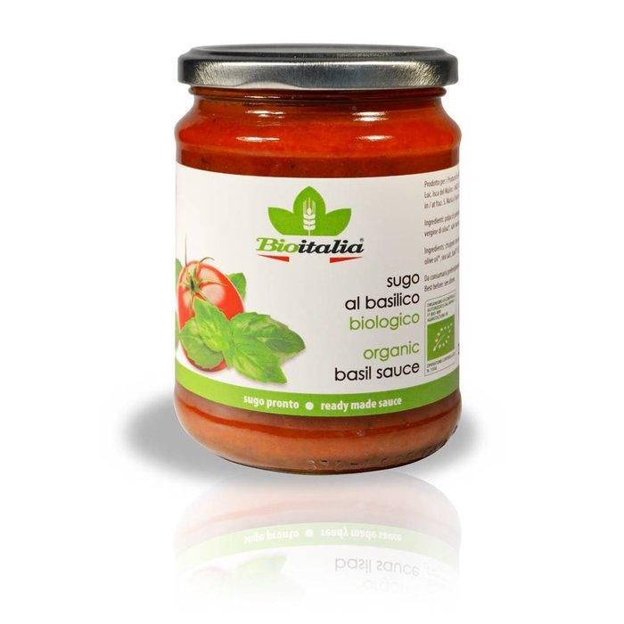 Sauce tomate & basilic bio 358ml