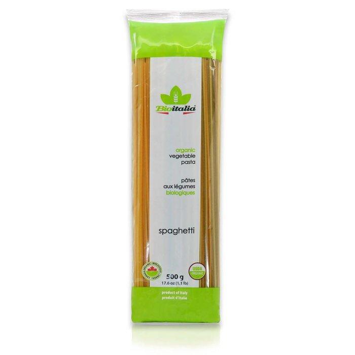 Spaguetti aux legumes bio 500 g