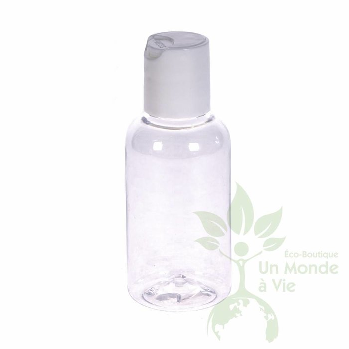 Bouteille 60 ml claire