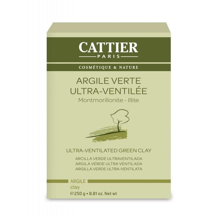 Cattier Argile verte ultra-ventillee 250g
