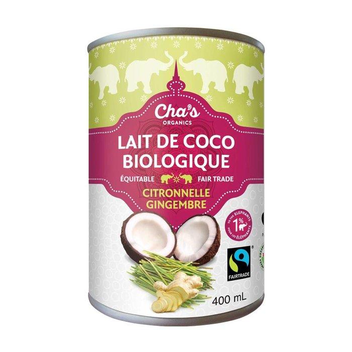 Lait de coco Citronnelle gingembre 400 ml