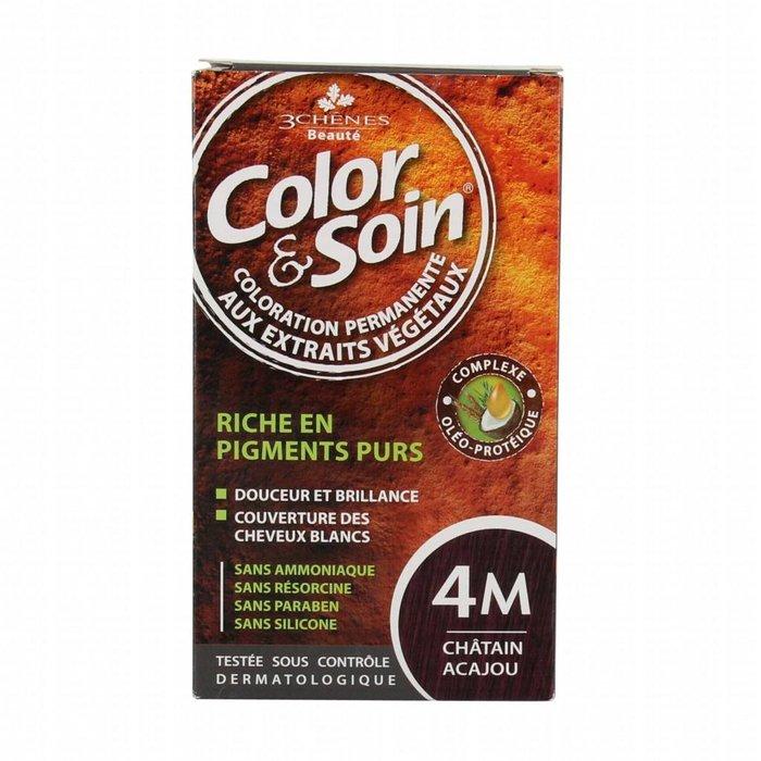 COLOR & SOIN Teinture 4M 135ml