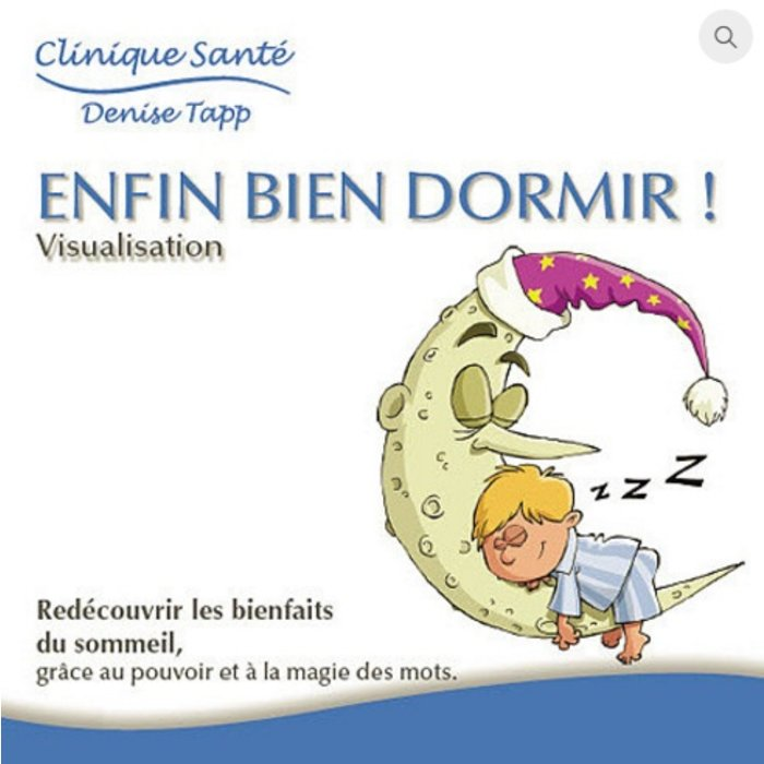 CD DENISE TAPP Enfin bien dormir!