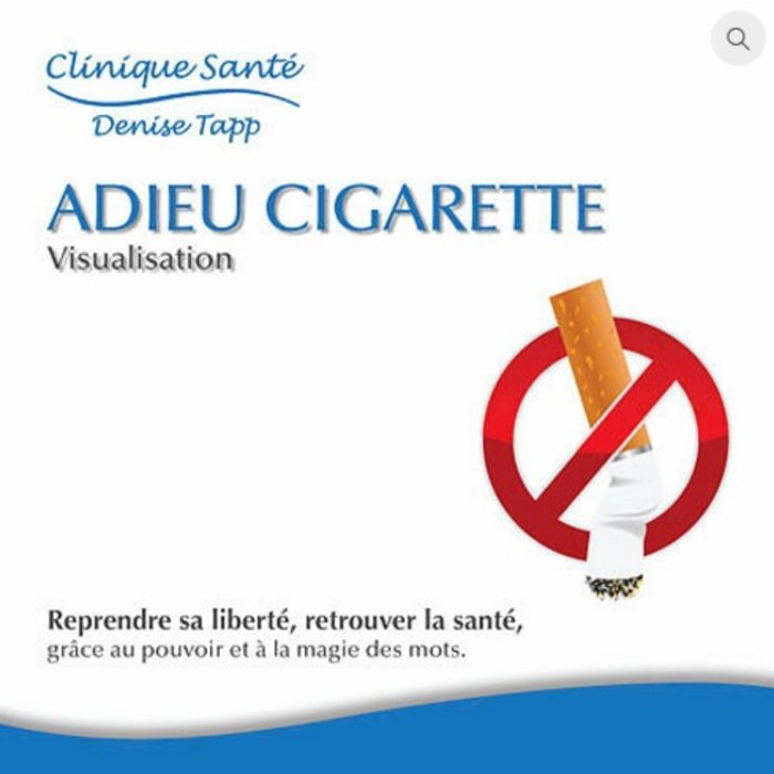 CD DENISE TAPP Adieu cigarette