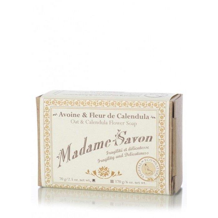 Madame savon Avoine et Fleur de calendula 70g